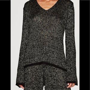 Zara lightweight bell sleeve sweater.